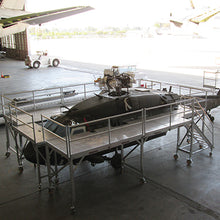 Bell 412 Side Maintenance Platform