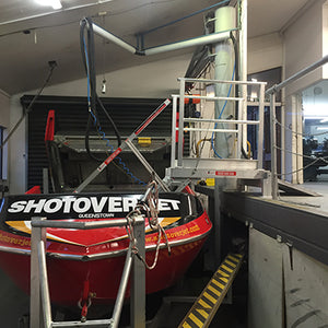 Jet Boat Maintenance Platforms
