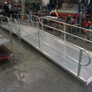 Concrete LIne Ramp