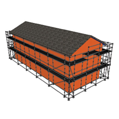 Double Level - 42m Prosacaf House Packs