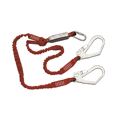 Big Ben Twin Tailed Elasticated Fall Arrest Lanyard