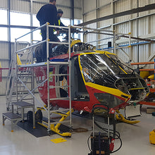 Maintenance Platform for R44 Robinson and BK177 Helicopter