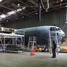 Hercules C130 Maintenance Docking Station