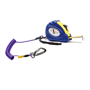 5m Deluxe Tape Measure with 2m Tethers/Twistlock Carabina