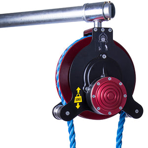 LEACH'S CONTROLLED SAFETY PULLEY