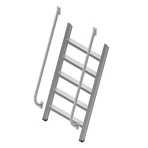 Modular Step-Over 70 Degree Ladders
