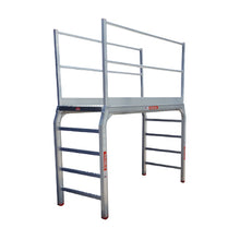 Modular Step-over Vertical Ladders