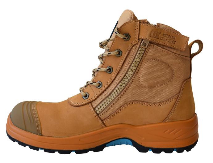 OX NUBUCK ZIPPER BOOT