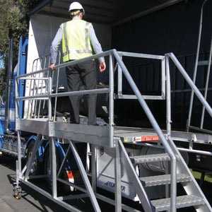 SAFELOADER Extra Wide 1.4m Access Platforms - SafeSmart Access