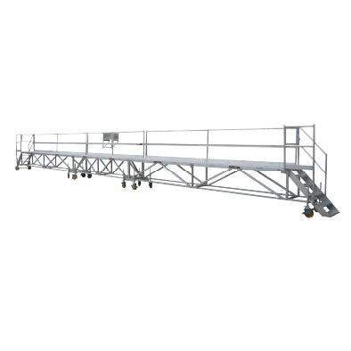 Truck Platform with Lanyard Line and Double Connection Points - 16m