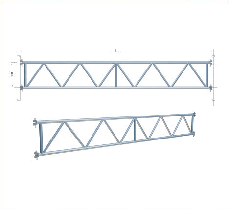 TUBULAR LATTICE GIRDER