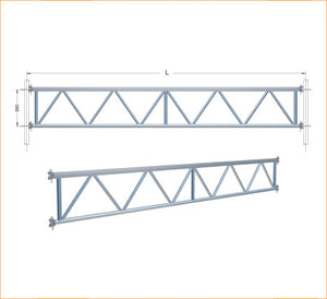 U TRANSOM LATTICE GIRDER
