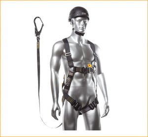 Zero Trademans Harness/Lanyard Set