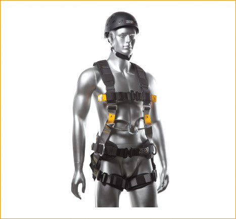 Zero Plus Construction Harness with Positioning Belt