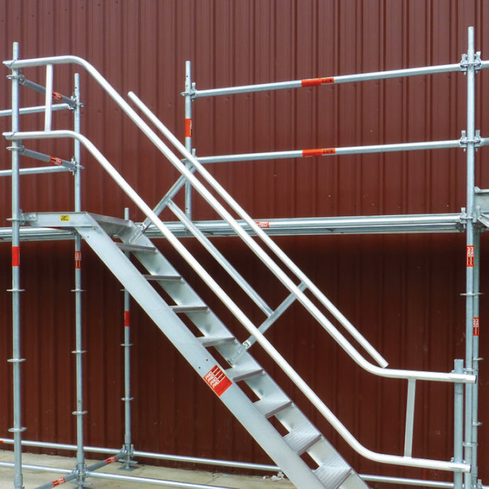 External Handrail for Z Stair
