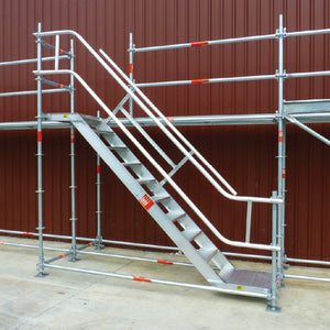 Aluminium 'Z' Stairs - SafeSmart Access