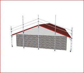 EASYRAIL Edge Protection Gable End Only 12.0m ASTRID APPROVED