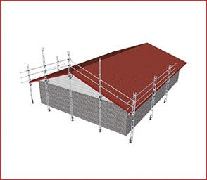 EASYRAIL Full Gable End & 12.0M OF Straight Edge Protection