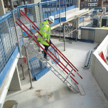 ADJUSTASTAIRS 600MM WIDE ALUMINIUM - SafeSmart Access
