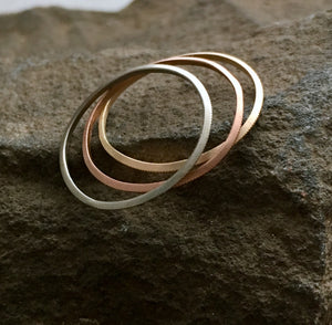 CLASSIC MILLGRAIN STACKER RING