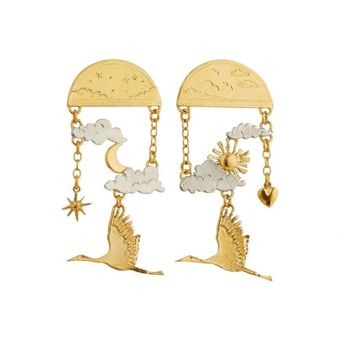 Day Time/Night Time Dream Earrings