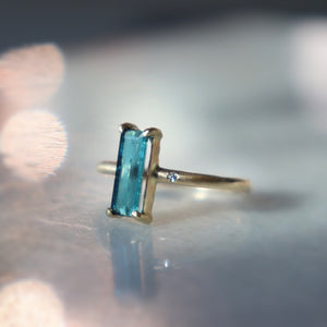 On sale from $698 Indicolite Bar Ring