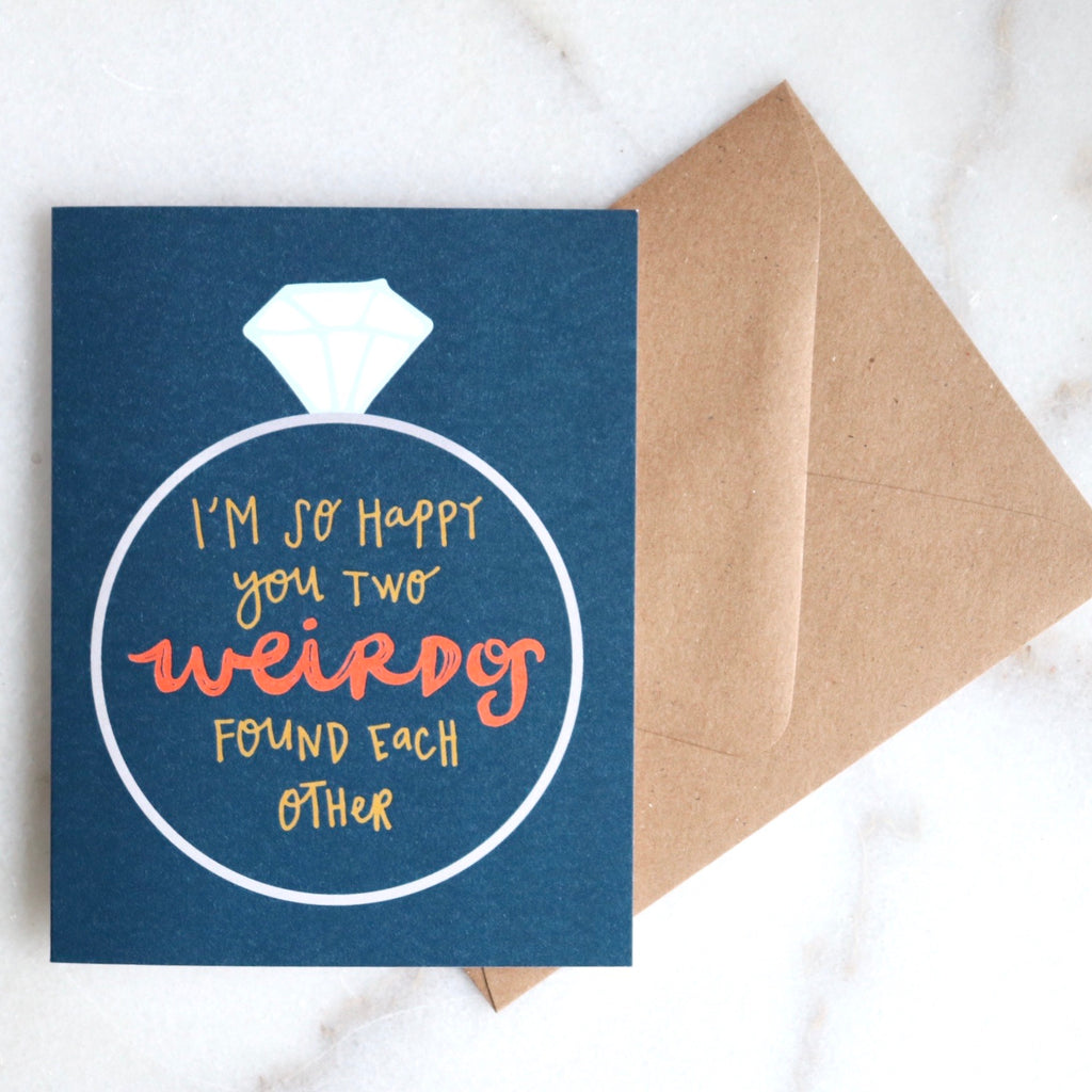 Two Weirdos Card