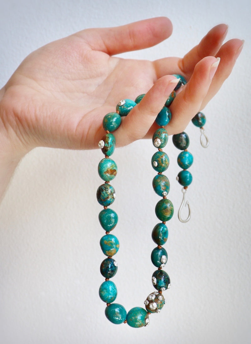 Hunter Turquoise & Barnacle Necklace