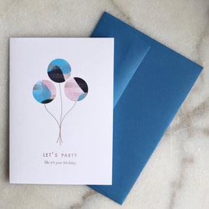 Let's Party! Birthday Card