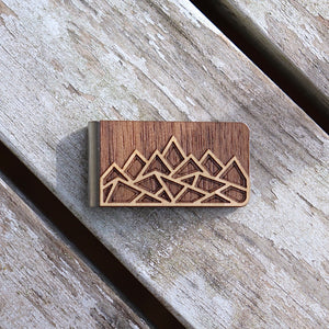 Mountain Money Clip