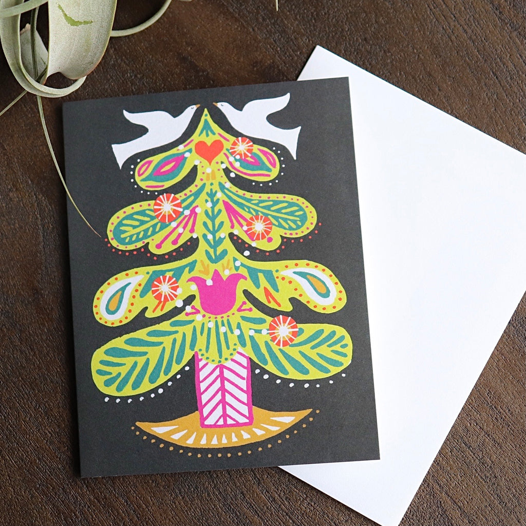 Scandinavian Tree Card