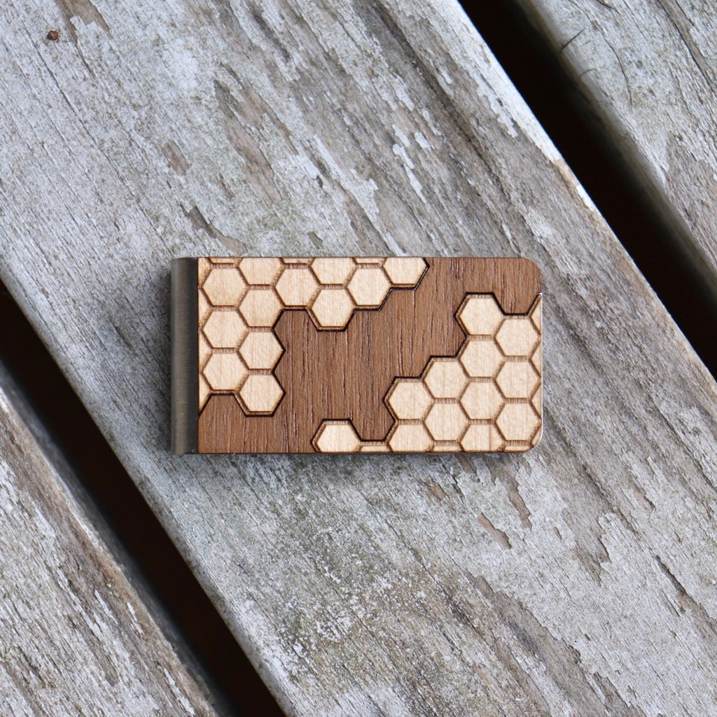 Honeycomb Money Clip
