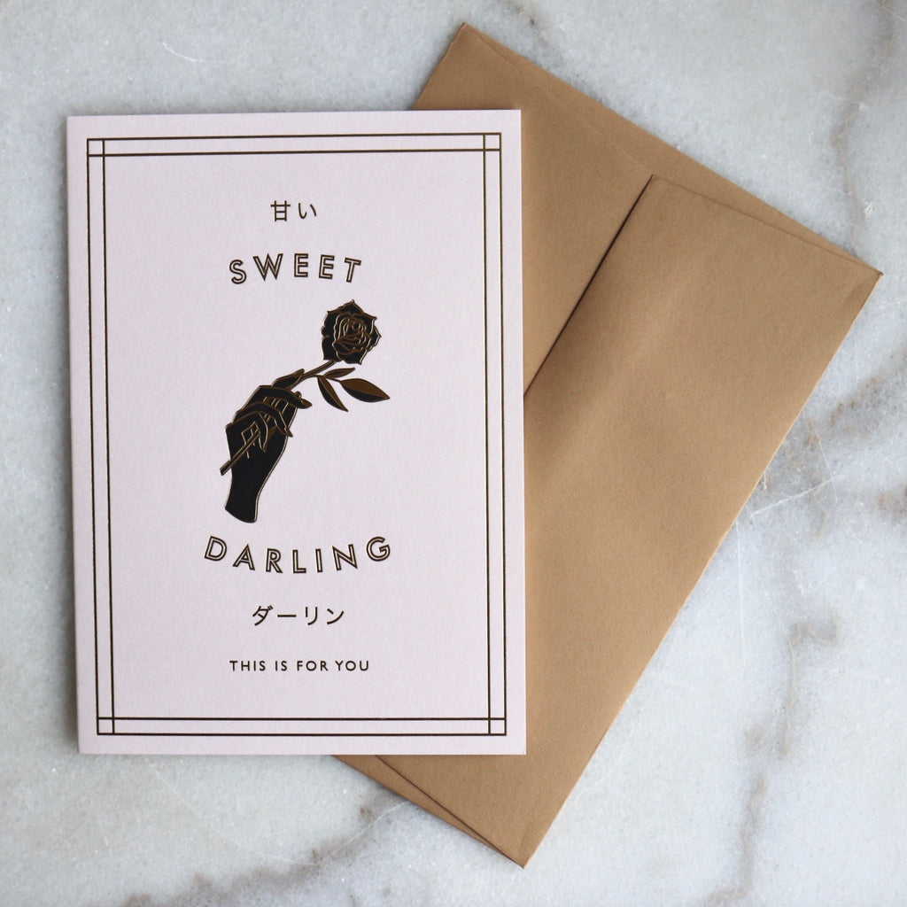 Sweet Darling Card