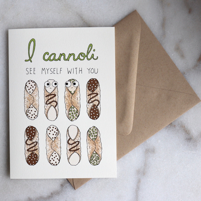 I Cannoli.. Card