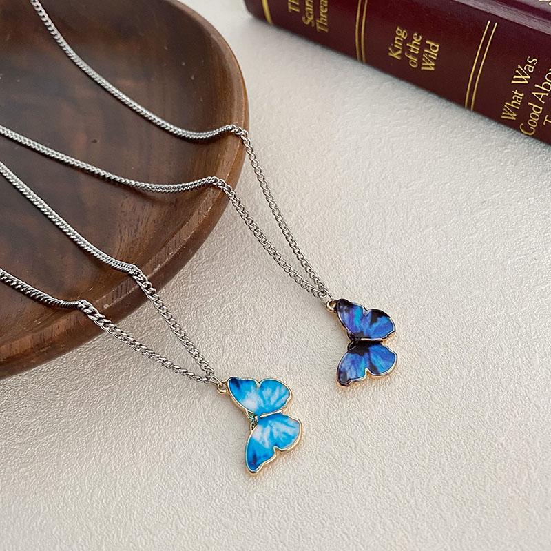 Butterfly Metal Necklace