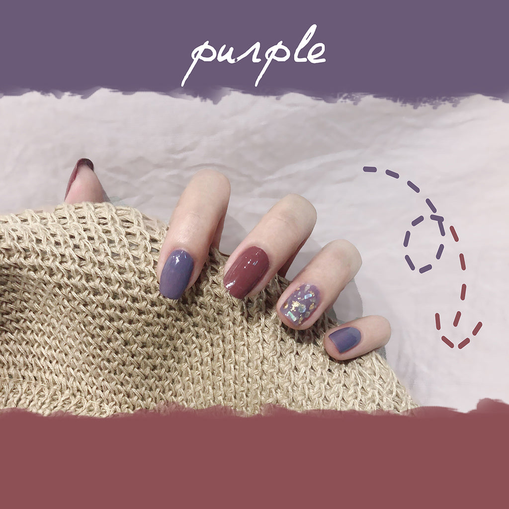 【In Stock】Plum Lover Nail Sticker