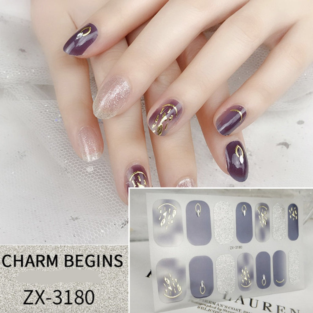【In-Stock】Milky Way Nail Stickers
