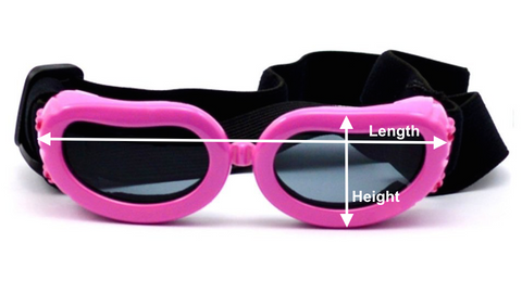 Dog Goggles Sizing Image
