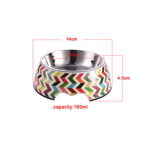 ZigZags Bowl - Puppernaut Dog Supplies
