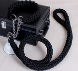 Soft Rope Collar and Leash Set - Puppernaut Dog Products