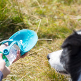 Leaf Design Travel Water Bottle - Puppernaut Dog Products