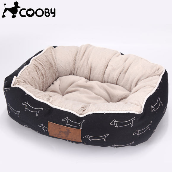 [COOBY] Walled Dog Bed - Puppernaut Dog Supplies