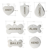 Titanium Steel ID Tag - Puppernaut Dog Products