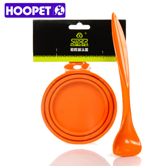 Silicone Lids & Dog Food Spoon Set - Puppernaut Dog Supplies