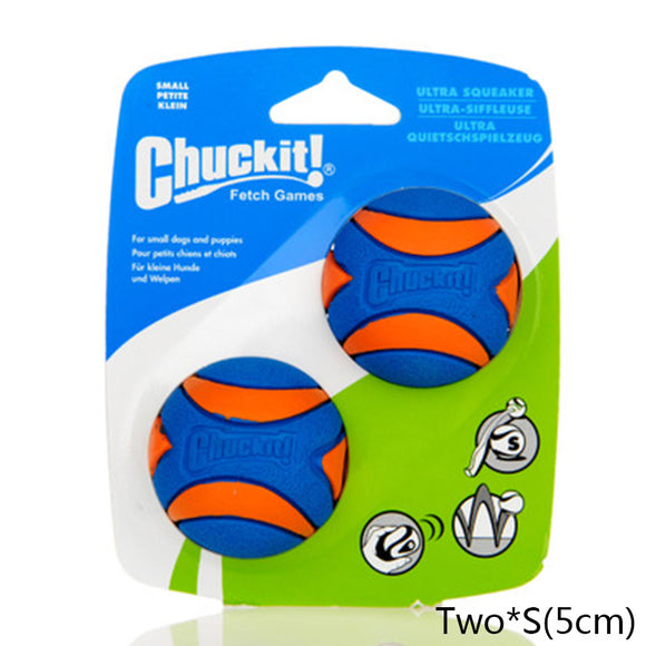 Squeaky Chuckit! Rubber Balls
