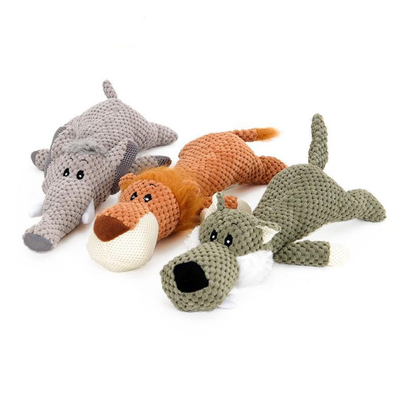 Chewy Animal Toy - Puppernaut Dog Products