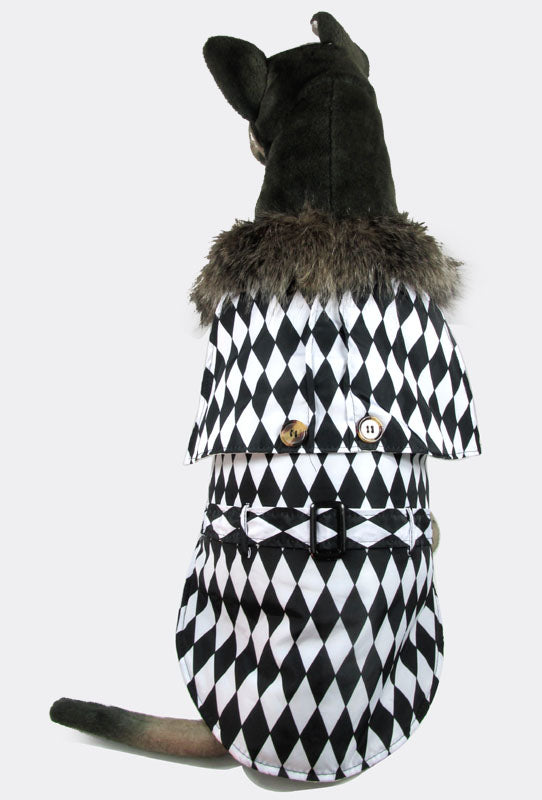 Checkerboard Winter Coat - Puppernaut Dog Products