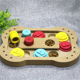Dog Puzzle (Wooden) - Puppernaut Dog Supplies