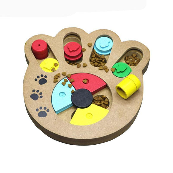 Dog Puzzle (Wooden) - Puppernaut Dog Products
