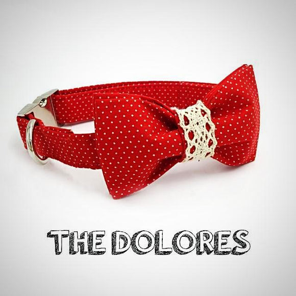 The Dolores Polka Collar - Puppernaut Dog Supplies